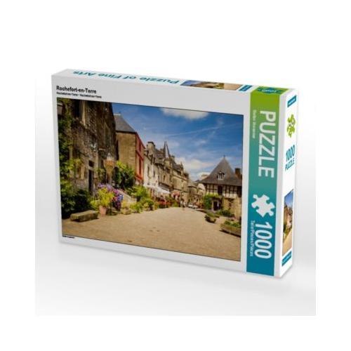 Rochefort-en-Terre Foto-Puzzle Bild von Stefan Vossemer Puzzle