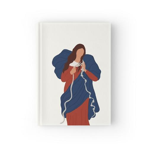 Mary Undoer of Knots Notizbuch