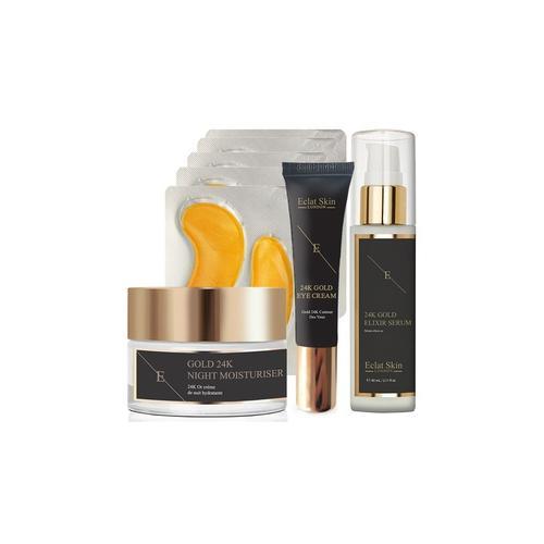 Eclat Skin London: 60 ml Anti-Aging-Serum (24 Karat Gold)