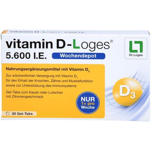 Dr. Loges + Co. Vitamin D Vitamine 39.0g