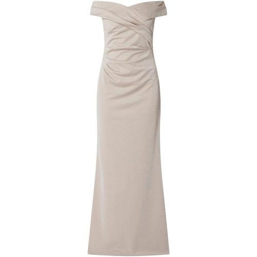 Adrianna Papell Off-Shoulder-Abendkleid im Meerjungfrau-Stil