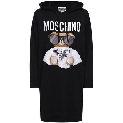 Moschino Kleid Aus Baumwollstric...