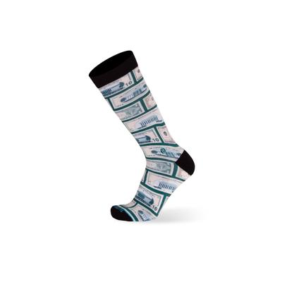 Men's Big & Tall The Success Socks by TallOrder in Green (Size 9-11)