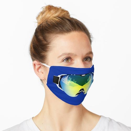 Skibrille Maske