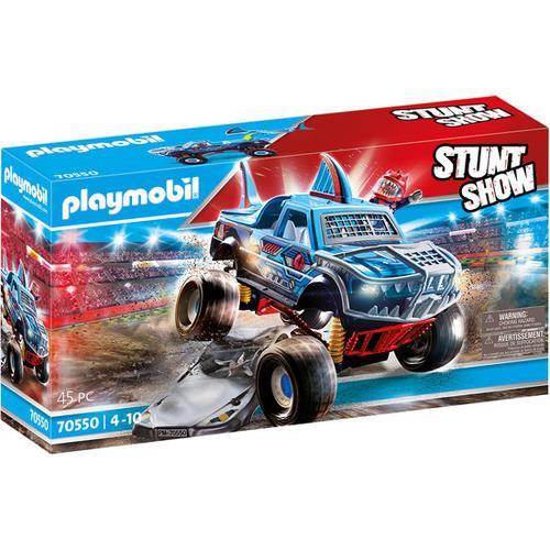 PLAYMOBIL® Stuntshow 70550 Stuntshow Monster Truck Shark, bunt