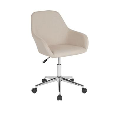 Flash Furniture Beige Cortana Home and Office Mid Back Office Chair
