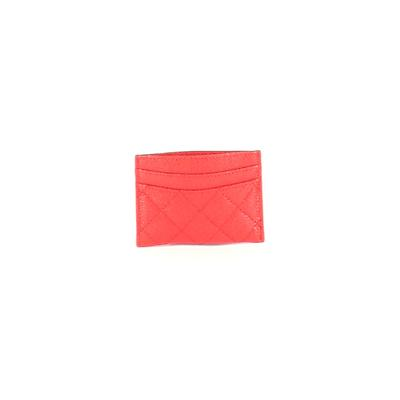 Card Holder: Red Solid Bags