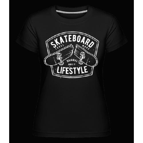 Skateboard Lifestyle - Shirtinator Frauen T-Shirt