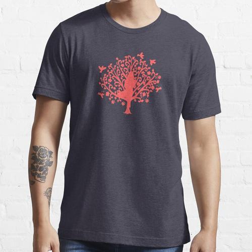 Korallenbaum Pose Essential T-Shirt