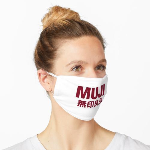 MUJI-Logo Maske