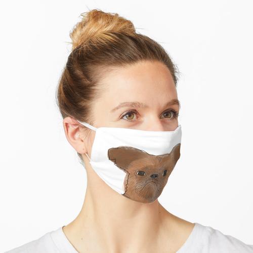 Brüsseler Griffon Maske