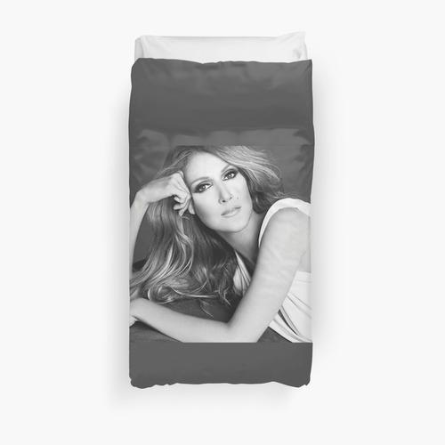 Celine for fans of Celine Dion Duvet Cover