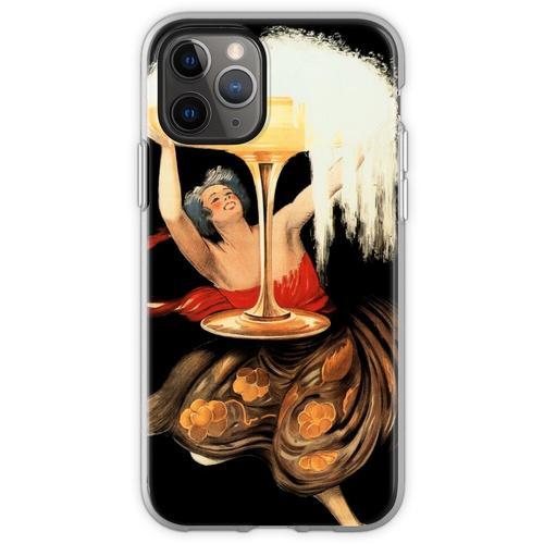 CONTRATTO SPARKLING WINE 1922 Italien Alkoholwerbung von Leonetto C Flexible Hülle für iPhone 11 Pro