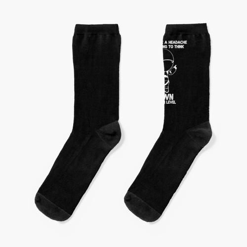 Kopfschmerzen Socken