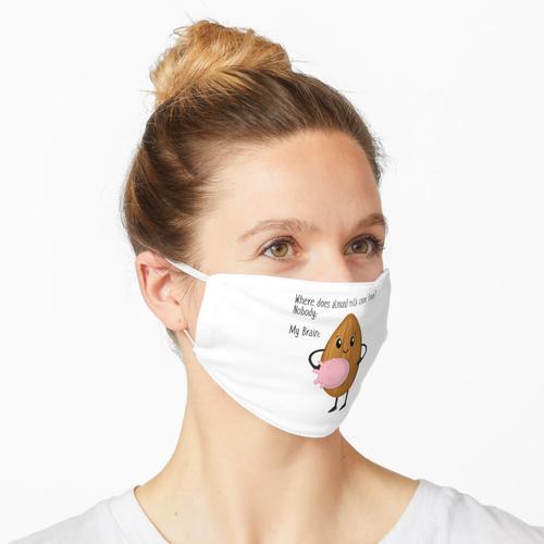 Mandelmilch Meme Maske