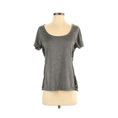 Layer 8 Active T-Shirt: Gray Activewear – Size Small