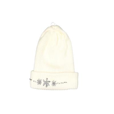 Aeropostale Beanie Hat: Ivory Accessories