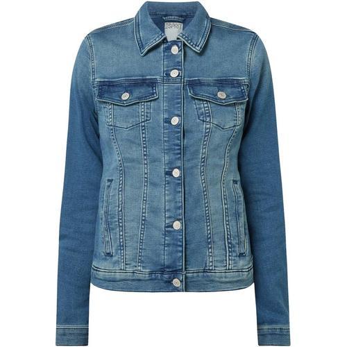 Esprit Jeansjacke aus Sweat Denim