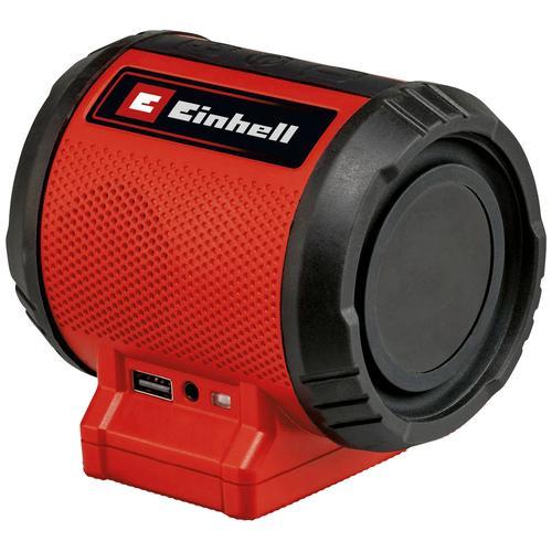Einhell Bluetooth-Lautsprecher TC-SR 18 Li BT - Solo rot Bluetooth Lautsprecher Audio, MP3, Musik