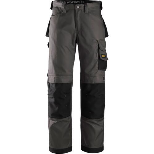 Snickers Workwear Arbeitshose DuraTwill, Gr. 48 - 56 grau Herren Arbeitshosen Arbeits- Berufsbekleidung
