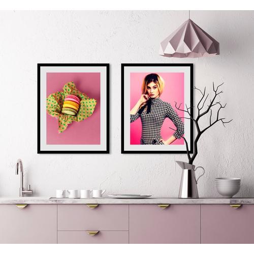 queence Bild »Macarons«, (1 Stück)