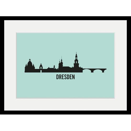 queence Bild »Dresden Skyline«, Städte (1 Stück)