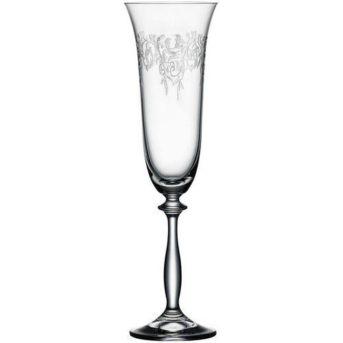 BOHEMIA SELECTION Sektglas »ROMANCE«, Kristallglas, 6-teilig