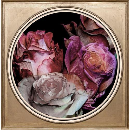 queence Acrylglasbild »Getrocknete Rosen«
