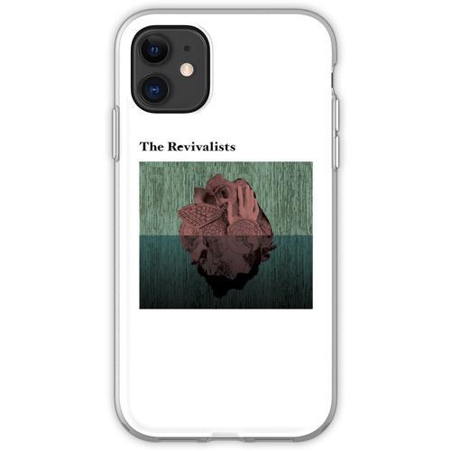 Holzherzen Flexible Hülle für iPhone 11
