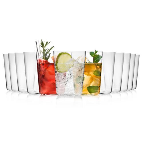 SÄNGER Gläser-Set Sidro, (12 tlg., Trinkgläserset aus Kristallglas 12 teilig) farblos Kristallgläser Gläser Glaswaren Haushaltswaren