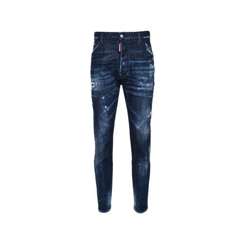 Dsquared2 Herren Relax Long Crotch Jean Blau