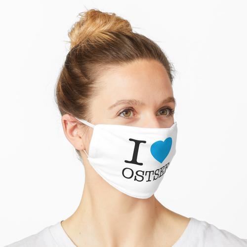 I LOVE OSTSEE Maske