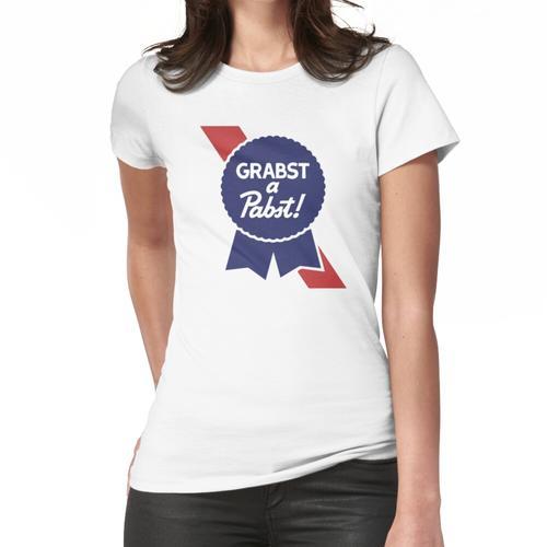 Schnapp dir ein Pabst PBR Bier Frauen T-Shirt