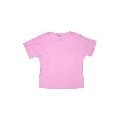 Z by Zella Active T-Shirt: Purple Solid Sporting & Activewear – Size 10