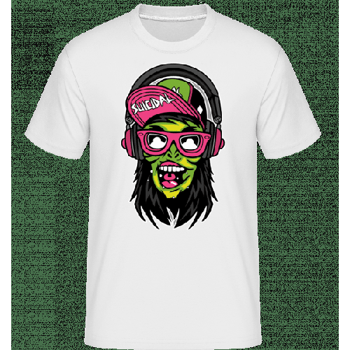 Zombie Headphone - Shirtinator Männer T-Shirt