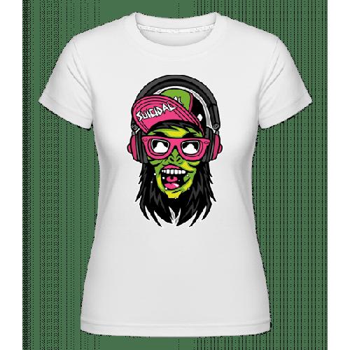 Zombie Headphone - Shirtinator Frauen T-Shirt