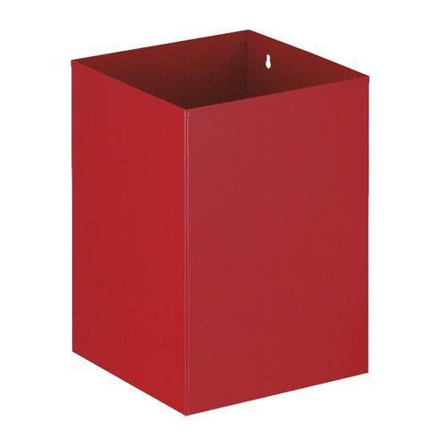 Viereckiger Papierkorb, VB 110200, Rot