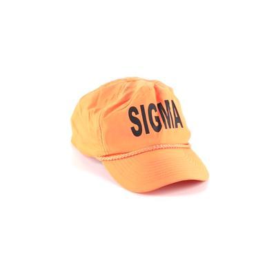 Sigma Baseball Cap: Orange Acces...