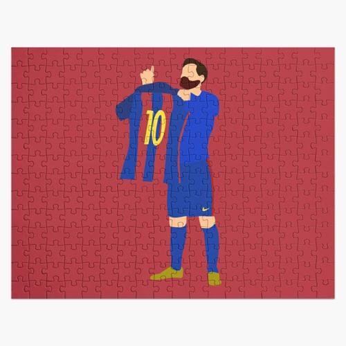Messi gegen Real Madrid Puzzle