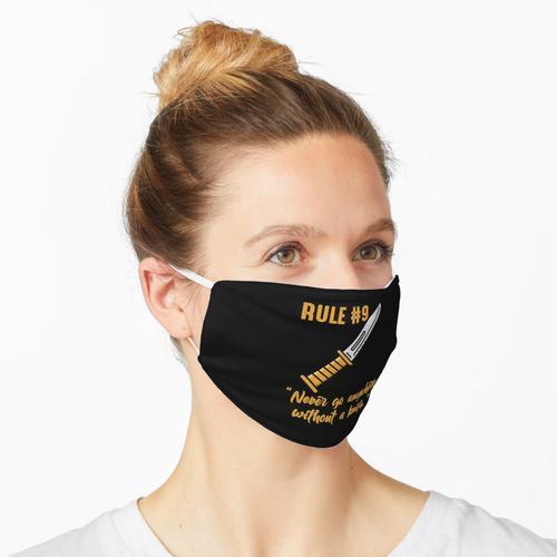 Gibbs Regel Nr. 9 (immer ein Messer tragen) Maske