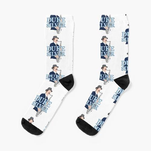 Herzog Silber Socken
