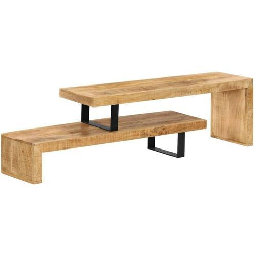 Topdeal TV-Lowboard Massivholz Mango 13205
