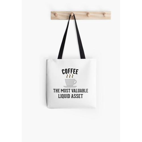 Buchhaltung Kaffee Liquid Assets Tasche