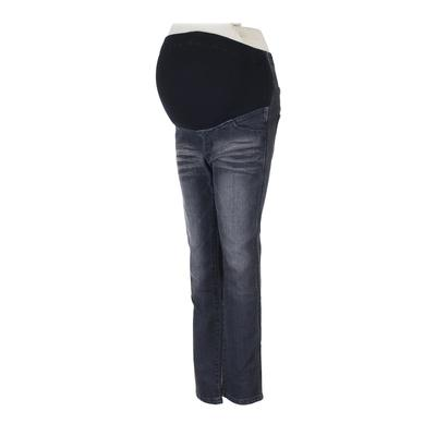 Angeliebe Jeans - Super Low Rise: Gray Bottoms - Size 7 Maternity