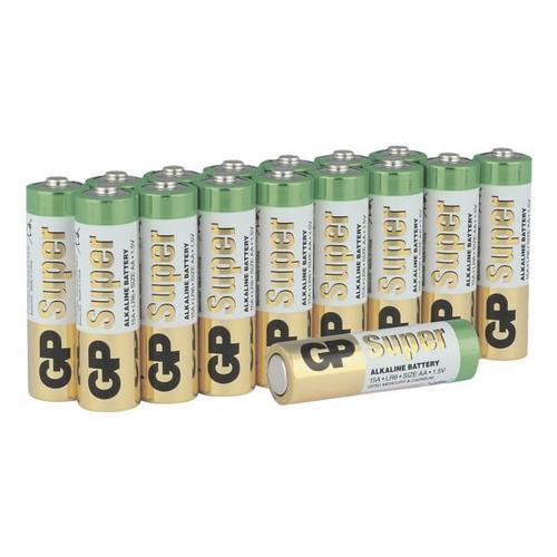 16er-Pack Batterien »Super Alkaline« Mignon / AA / LR06, GP Batteries