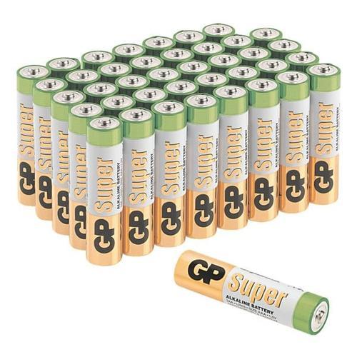 40er-Pack Batterien »Super Alkaline« Micro/ AAA / LR03, GP Batteries