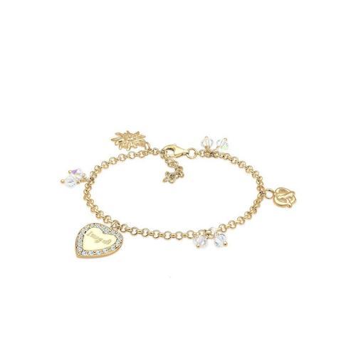 Elli Armband »Bettelarmband Wiesn Kristalle Silber«