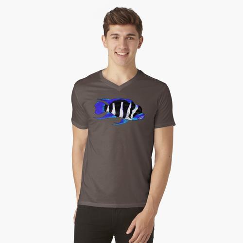Frontosa t-shirt:vneck