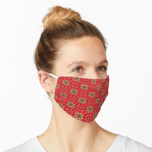 Weihnachtspyjama für die Familie Maske