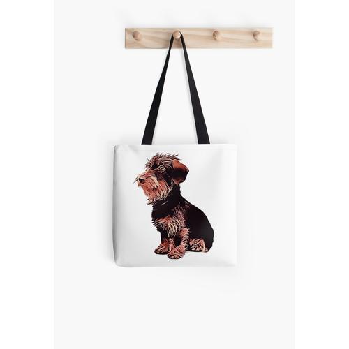 Rauhaardackel - Dackel - Hund Tasche